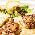 One Skillet Lemon Butter Chicken and Orzo